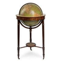 W & T.M. Bardin 18-Inch Terrestrial Floor Globe