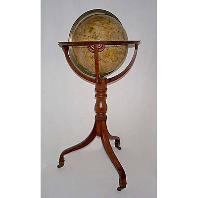 G.F. Cruchley/Cary Celestial Floor Globe