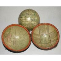 John & William Cary Terrestrial 3-Inch Pocket Globe