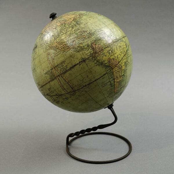 W. & A.K. Johnston/ Weber Costello 6-Inch Terrestrial Table Globe