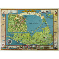 Pictorial Map of Nantucket