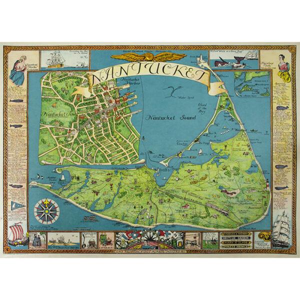 Pictorial Map of Nantucket