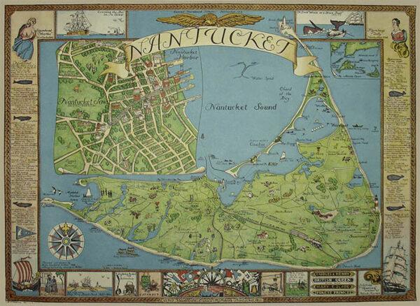 Nantucket Pictorial Map