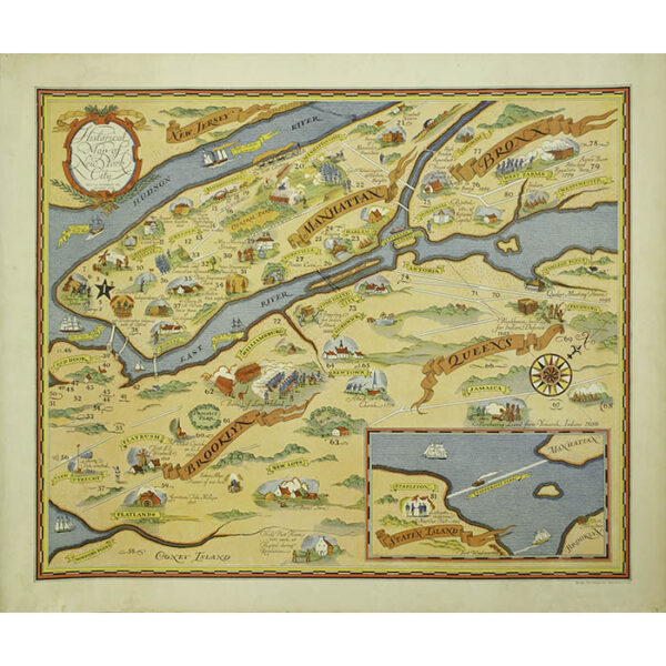 Historical Map of New York City