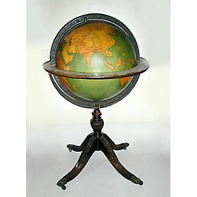 A.J. Nystrom 18-Inch Terrestrial Floor Globe