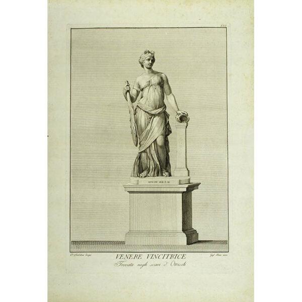 Venere Vincitrice, Trovata negli scavi d'Otricoli, Plate 22 [Venus Victorious, found in the excavations of Otricoli] (Dolcibene/Perini)