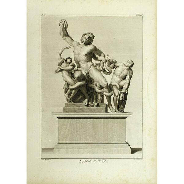 Laocoonte, Plate 39 [Laocoön] (Matteini/Muchetti)