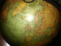 Replogle 16-Inch Terrestrial Floor Globe