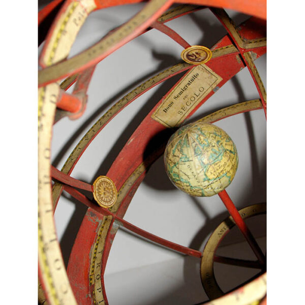 9-Inch Ptolemaic Armillary Sphere, detail