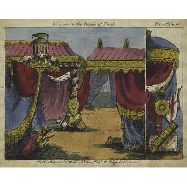 Hodgson & Co., Temple of Death Toy Theatre 3rd Scene