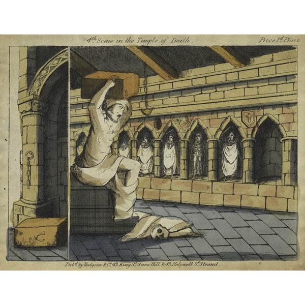 Hodgson & Co., Temple of Death Toy Theatre 4th Scene