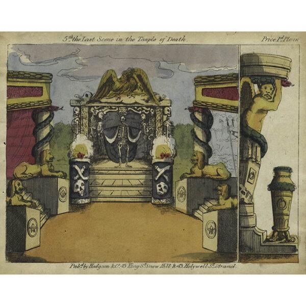 Hodgson & Co., Temple of Death Toy Theatre 5th Scene