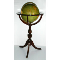 G.W. Bacon & Co./ Weber Costello 12-inch Terrestrial Floor Globe