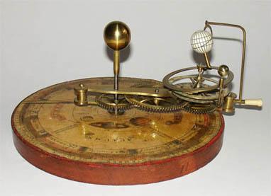 W. Jones, A New Portable Orrery