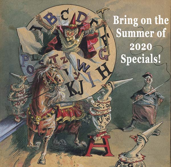 Bring on the Summer of 2020 Specials!