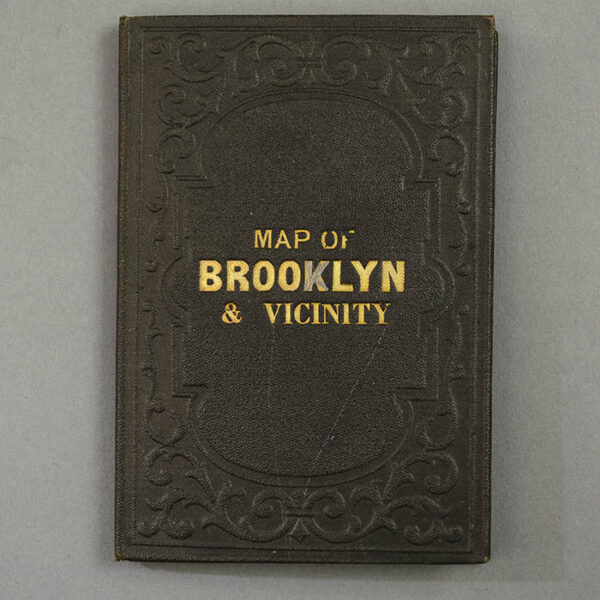 M. Dripps, Map of Brooklyn and Vicinity, 1869, cover