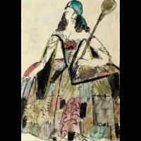 Costume For the Gypsy Queen in Rudolf Nureyev's Don Quixote