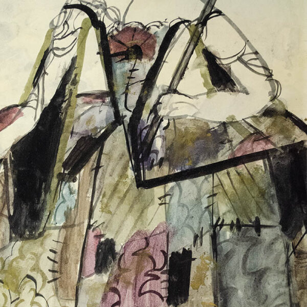 Costume For the Gypsy Queen in Rudolf Nureyev's Don Quixote, detail