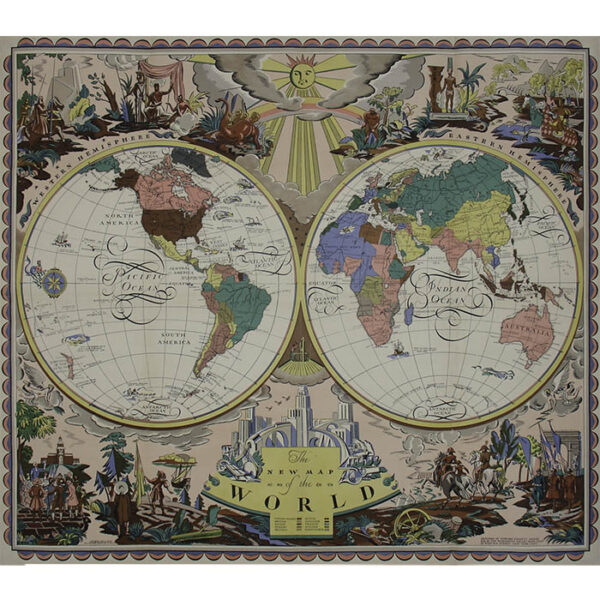 Edward Everett Henry, The New Map of the World