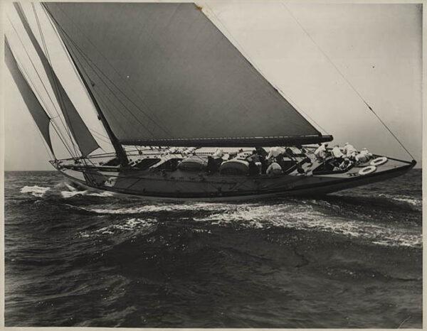 Levick Photograph of Whirlwind Yacht