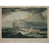The Melancholy Ship Wreck of the Frances Mary from St. Johns, J. Kendall, Master