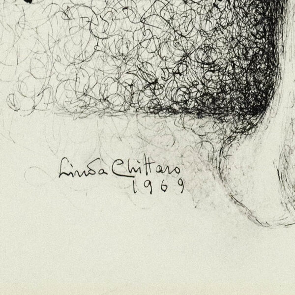 Linda Chitarro, Pulcinella, detail