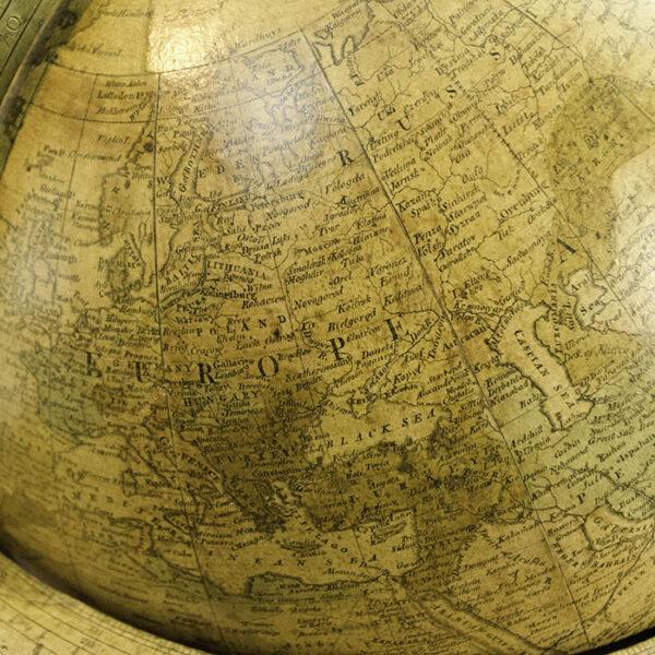 James Wilson 13-inch Terrestrial Table Globe, detail