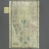 M. Dripps, Map of the Cities of New York and Brooklyn and Long Island City