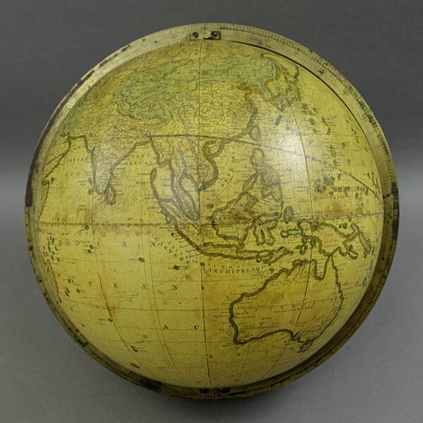 Gilman Joslin 12-inch Terrestrial Globe, detail