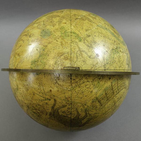 Josiah Loring 12-inch Celestial Globe, detail