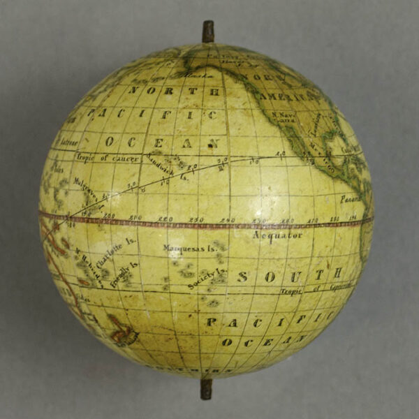 MPS 3-Inch Terrestrial Globe, detail
