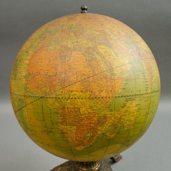 A.H. Andrews 12-Inch Terrestrial Deep Sea Globe, detail