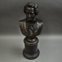Rudolf Uffrecht, Portrait Bust of Goethe