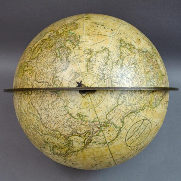 Gilman Joslin Loring's 12-inch Terrestrial Globe