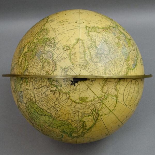 Gilman Joslin Loring's 12-inch Terrestrial Globe, detail