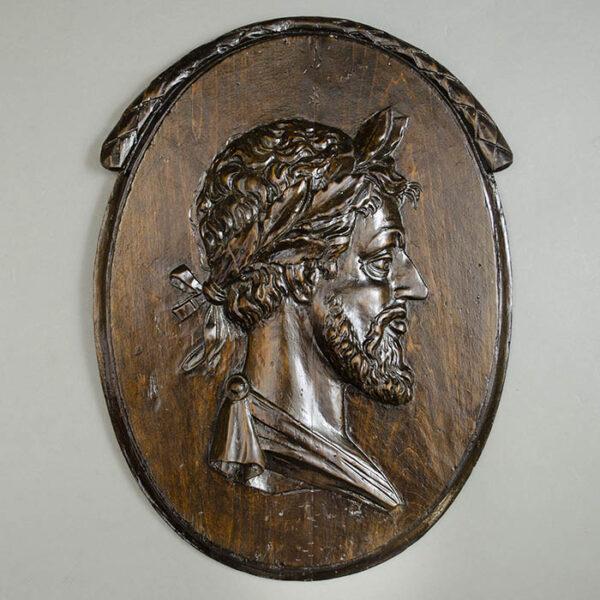 Man Crowned with Laurel Leaves