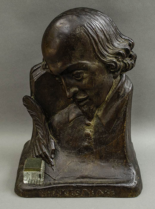 Portrait Bust of Shakespeare