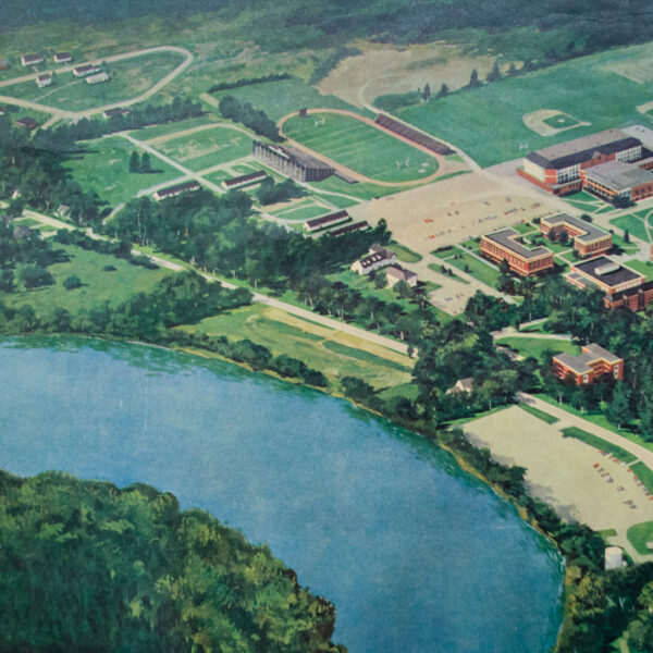 University of Maine Campus — Orono, Maine, detail
