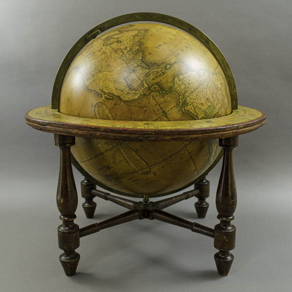 James Wilson & Sons 13-inch Terrestrial Table Globe