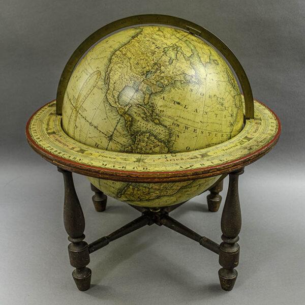 James Wilson 13-inch Terrestrial Table Globe