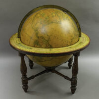 S.R. Gray, successor to James Wilson & Sons, 13-inch Terrestrial Table Globe