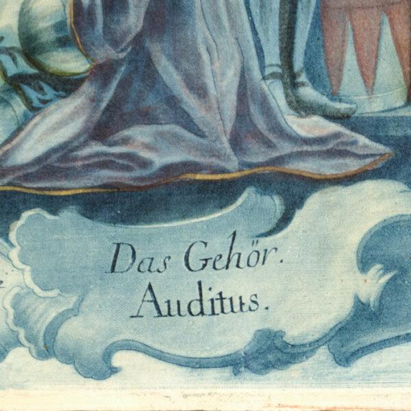 Das Gehör, Auditus [Hearing], detail