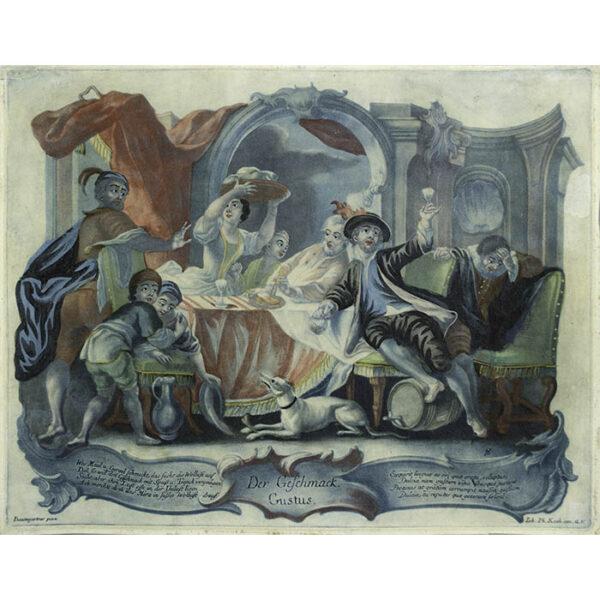 Johann Wolfgang Baumgartner, Five Senses, Der Geschmack. Gustus. [Taste]