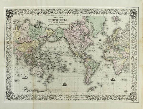 JH Colton World Map