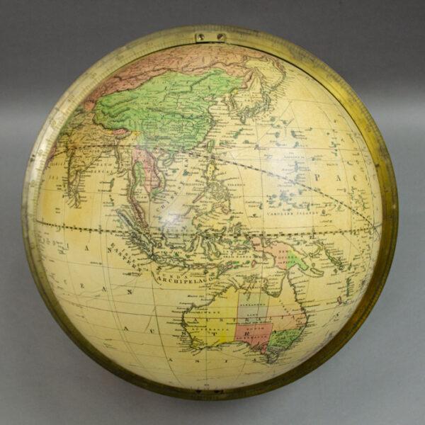 Gilman Joslin 12-Inch Terrestrial Table Globe, detail