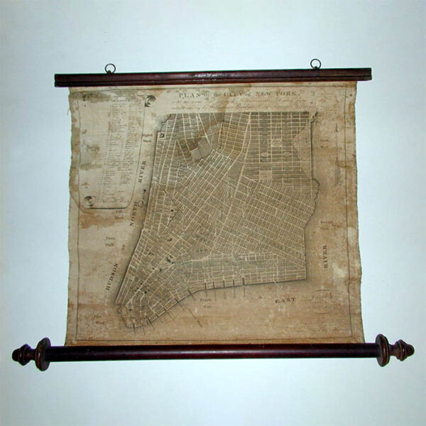Plan Of the City Of New York, With The Recent And Intended Improvements Drawn from Actual Survey By William Bridges, City Surveyor, 1807