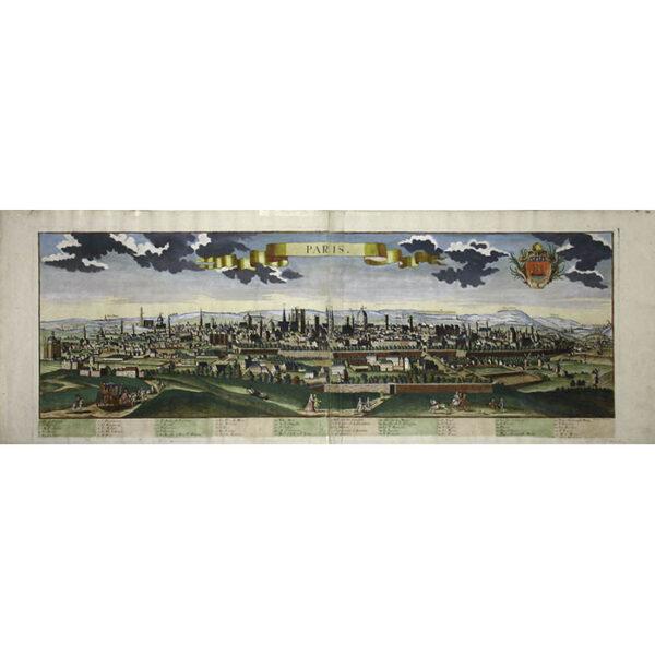 Friedrich Bernhard Werner, Paris, panoramic view