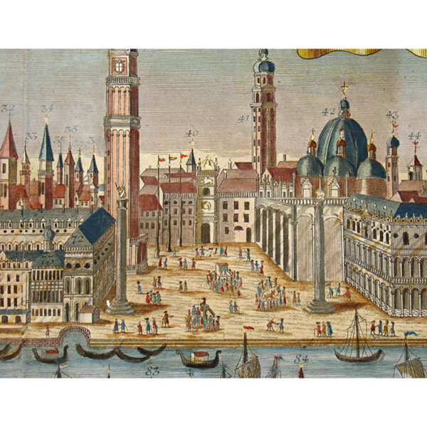 Friedrich Bernhard Werner, Venice, detail