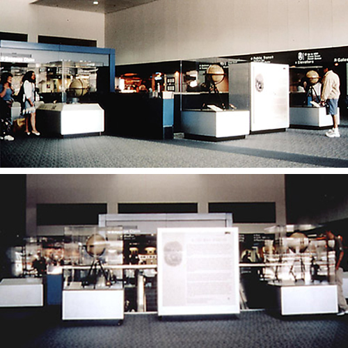 2000 exhibition at San Francisco Airport, A History of American Globes, 1820 to Present