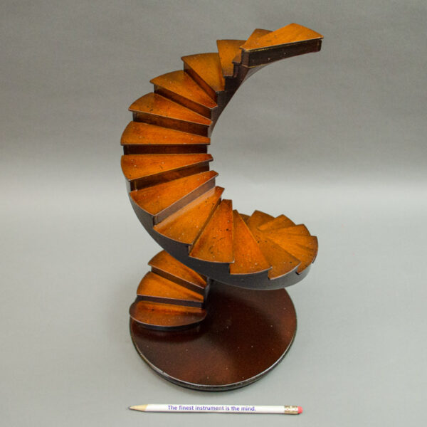 Spiral Mahogany Staircase
